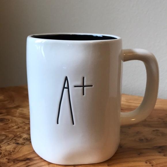 Rae Dunn A+ Mug